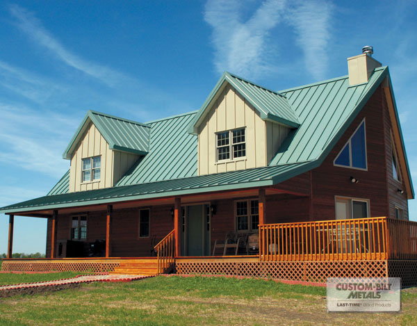 Why A Metal Roof Is Cost Effective Vs Asphalt Roofing Shingles