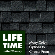 Architectural laminate roofing shingles