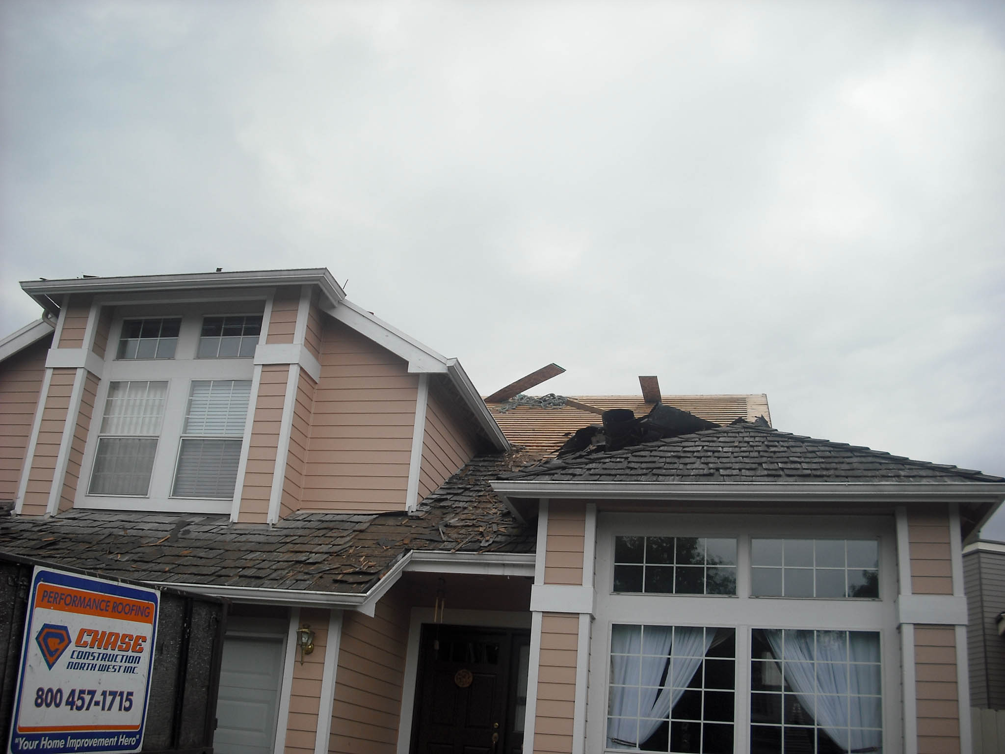 Kent Wa Re Roof 5 Chase Construction North West Blog