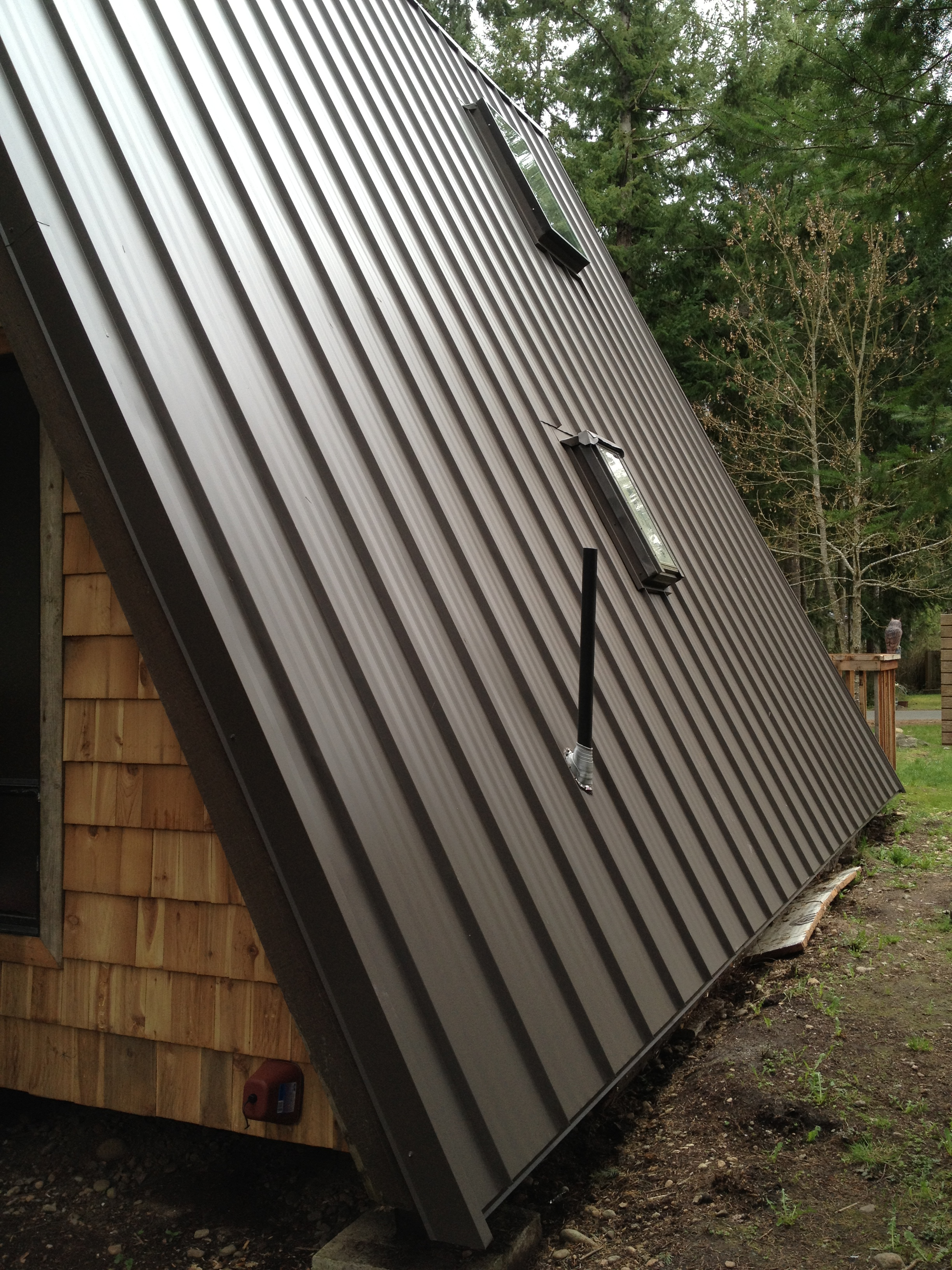 Metal Roof Installation In Roy Wa Chase Construction