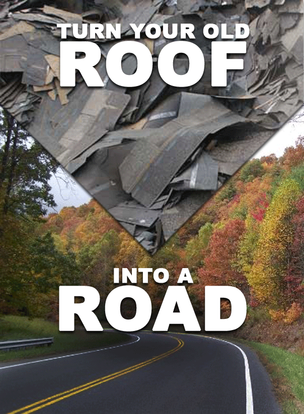 From Roofs To Roads Asphalt Shingle Recycling Chase
