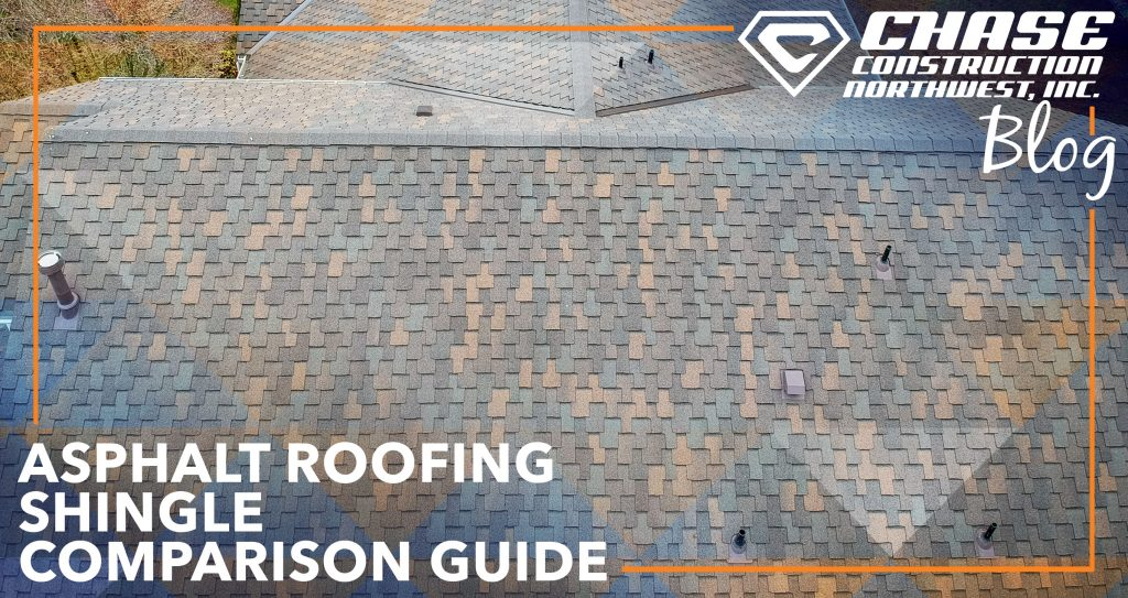 A great comparison between asphalt roofing shingles