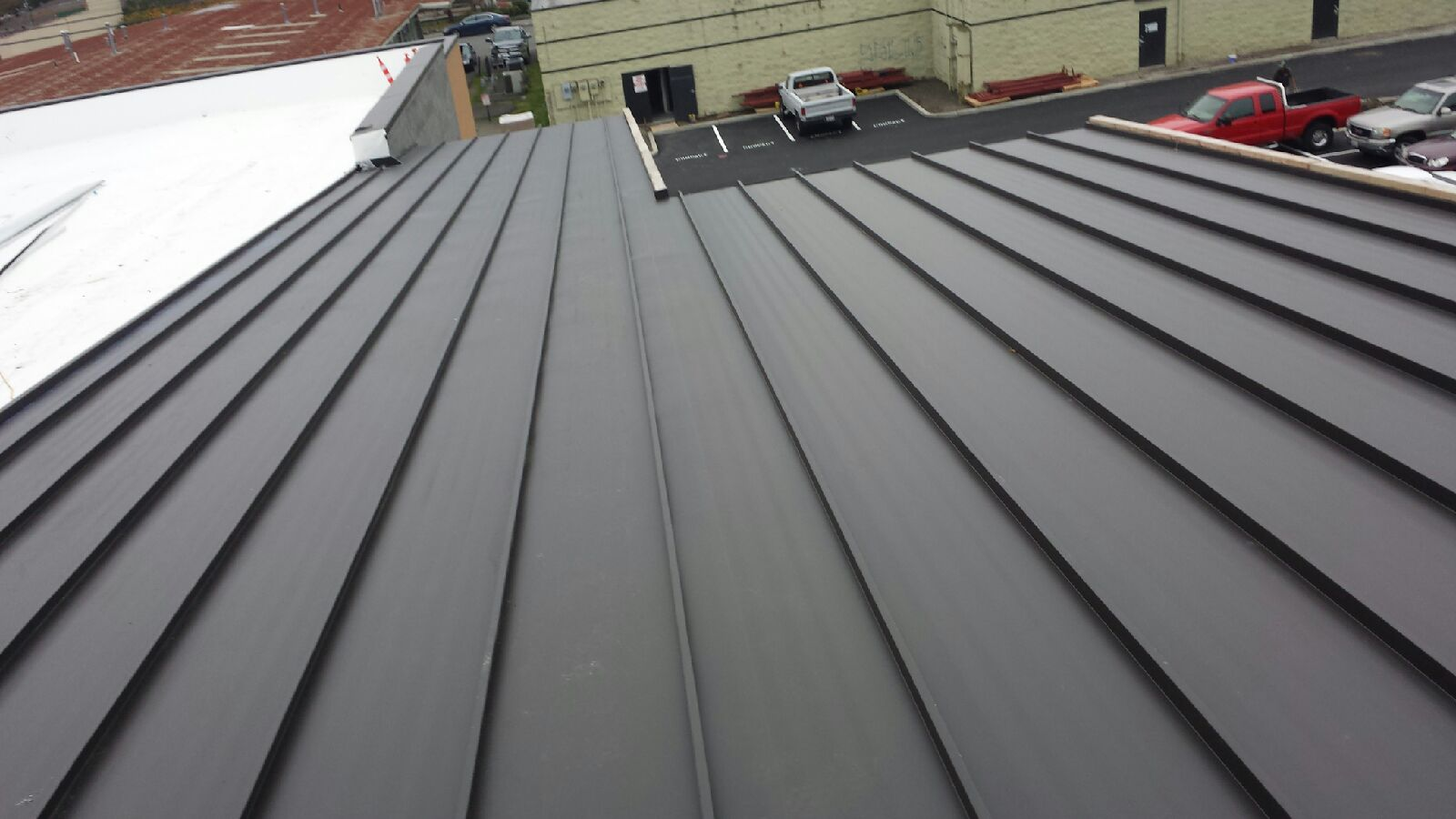 New Generation Of Roofing Standing Seam Metal Roofing
