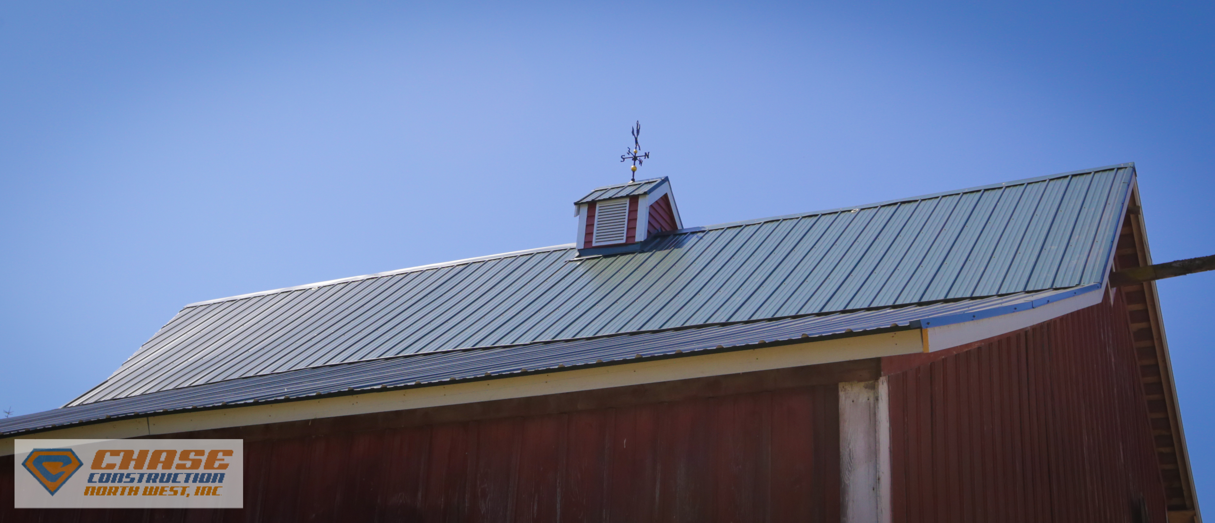 Metal Barn Roof In Edgewood Wa Chase Construction North
