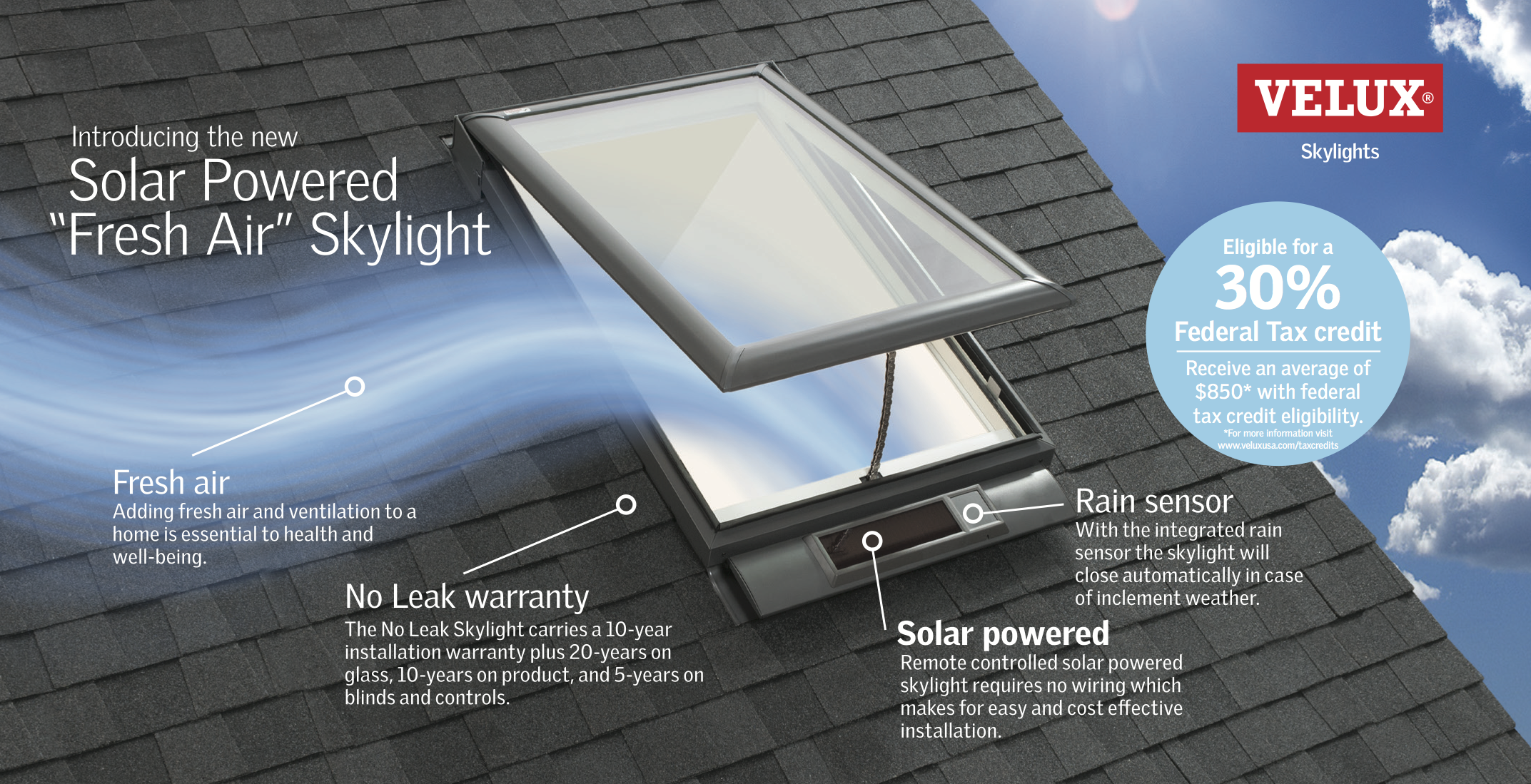 Why Upgrade To The Velux Solar Ed Fresh Air Skylight