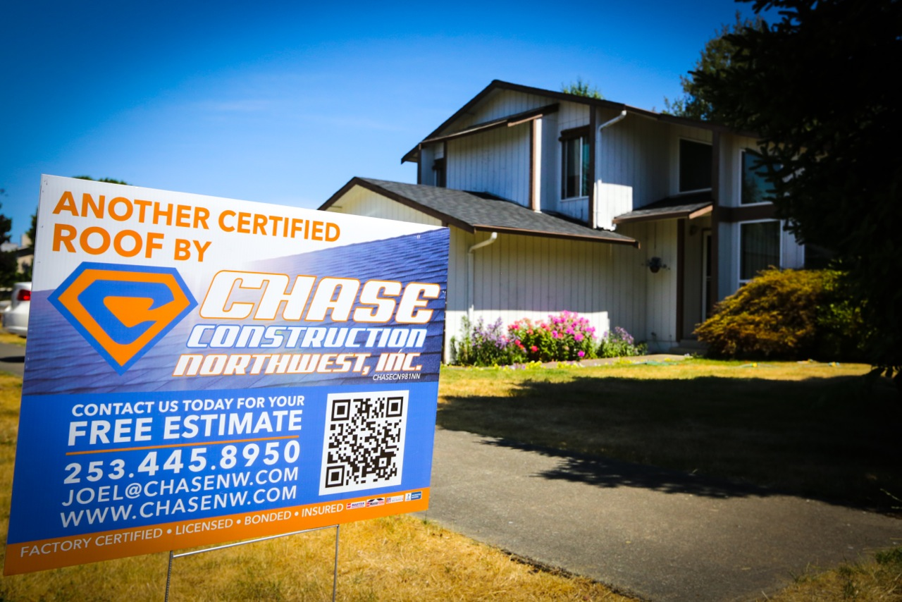 Tacoma roofing Chase Construction North West Inc.