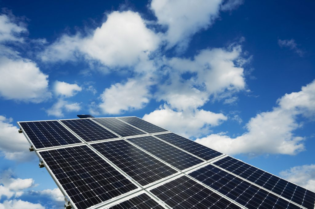 Solar panels Chase Construction North West Inc. roofing