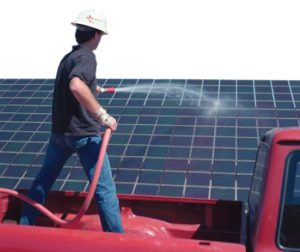 Solar Panel cleaning Chase Construction North West Inc. roofing