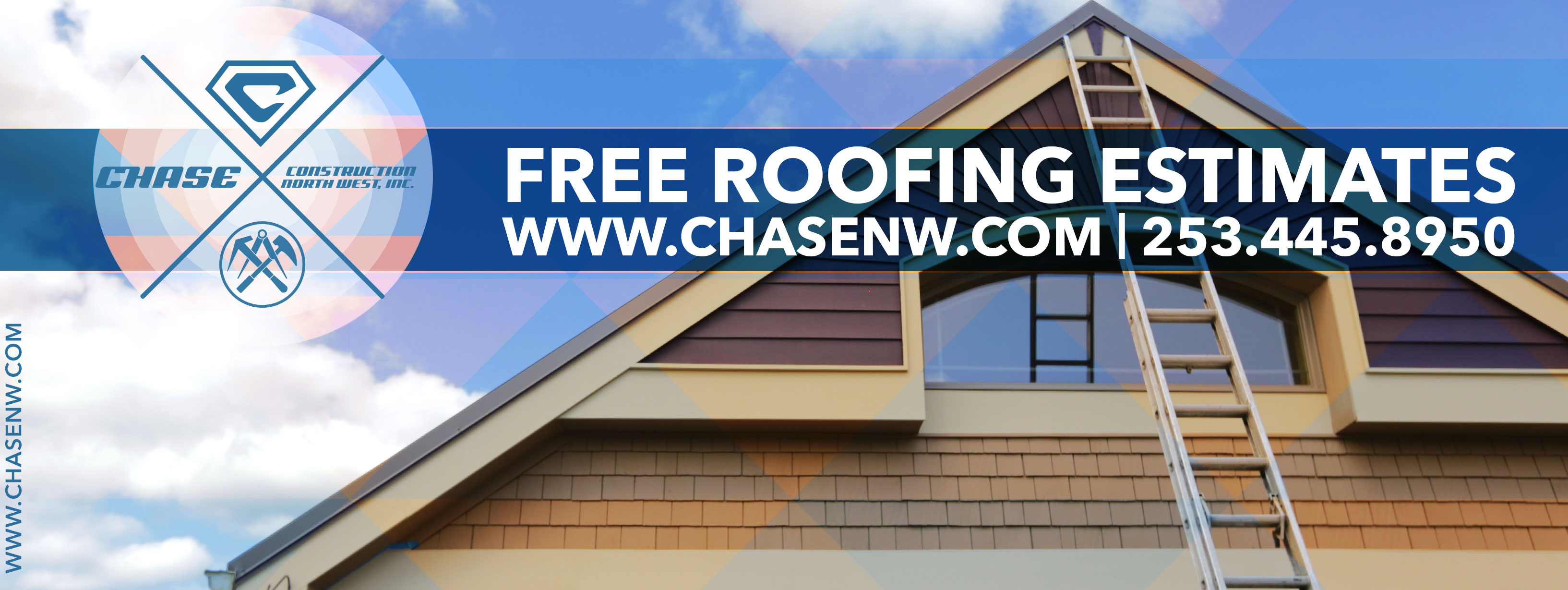 Free Roofing Estimates 253.445.8950 www.chasenw.com