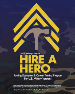 Hire A Hero Roofing Acadamy