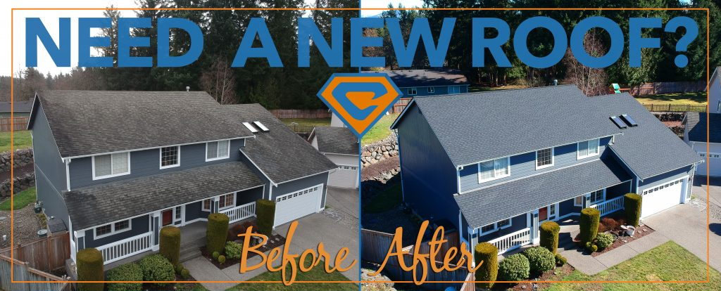 Gaf Timberline before and after