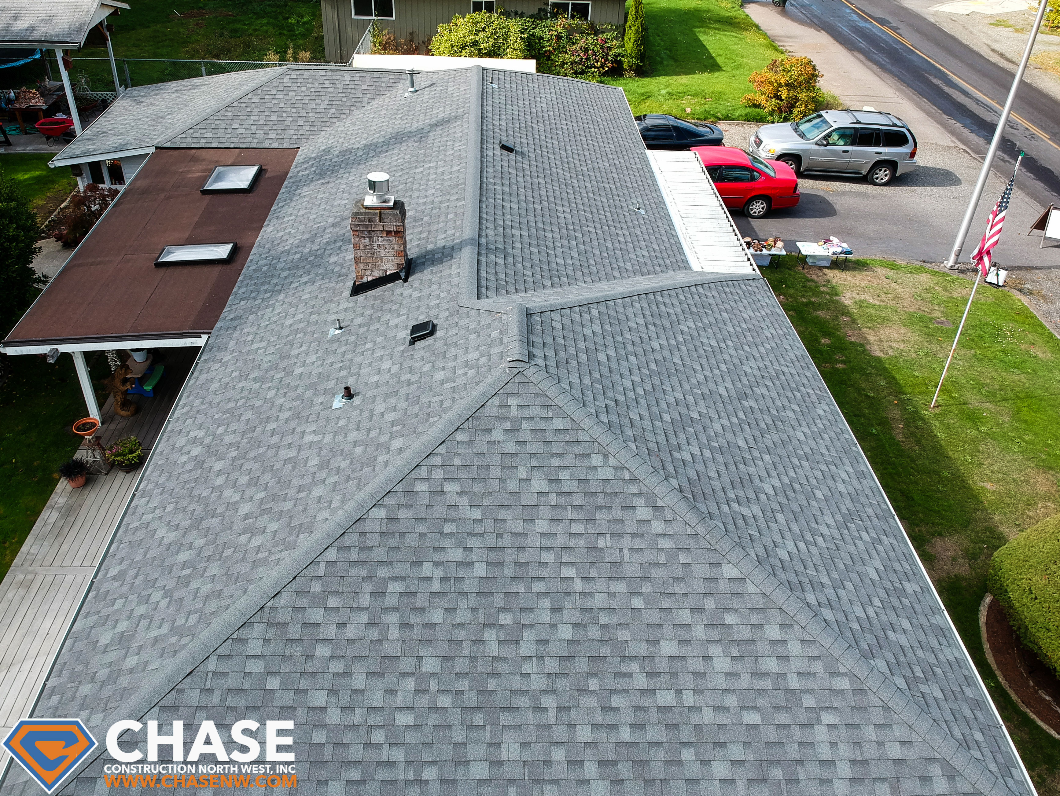 Iko Cambridge Shingle Roof In Spanaway Chase