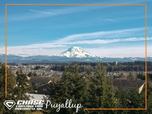 Mt Rainier From Puyallup