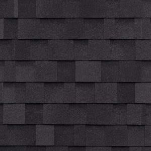 IKO Cambridge dual black roofing shingles