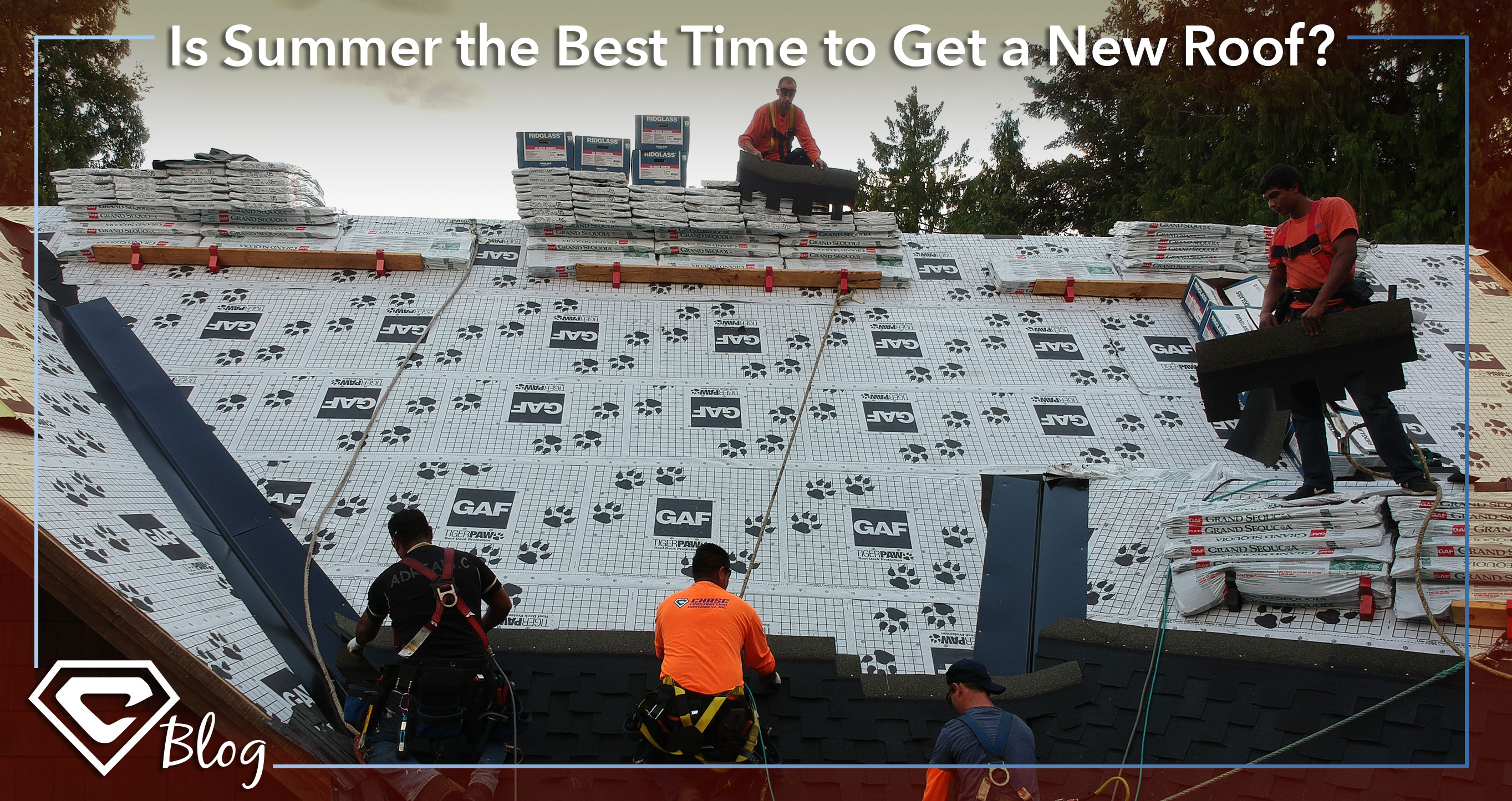 Is Summer the Best Time to Get a New Roof? A Roofing Blog by Chase Construction NW, Inc.