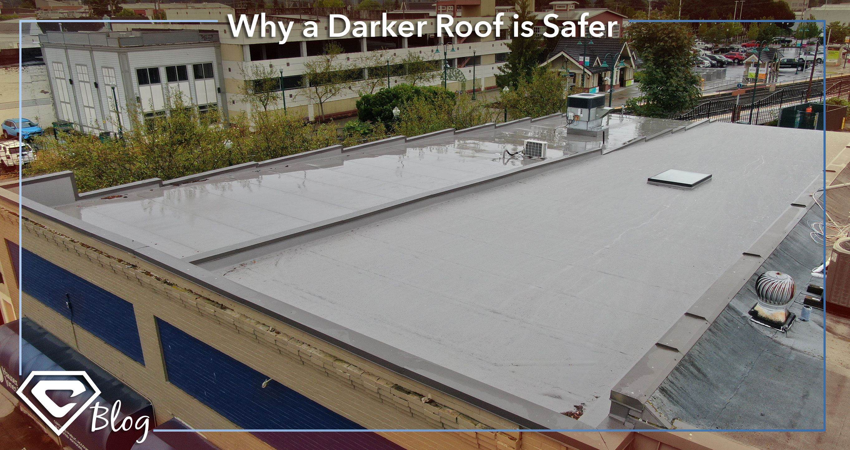Why a Darker Roof is Safer – A roofing blog by Chase Construction NW, Inc.